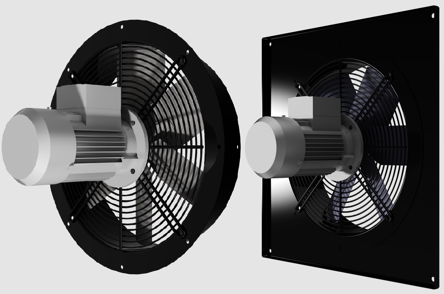 Industrial axial fans - Moro S r l