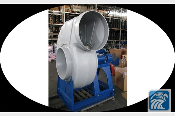 Anti-corrosion belt driven centrifugal fans
